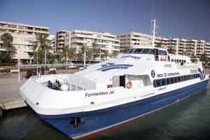 Ferry Ibiza Formentera desde el puerto de Ibiza