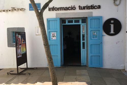 Oficina información turística en Sant Francesc, Formentera