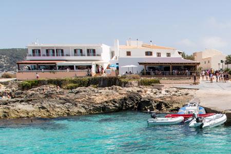 Hostal rafalet Es Caló Formentera