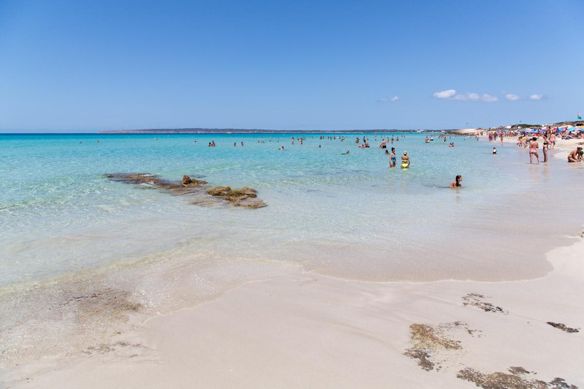 Playa Arenals Formentera