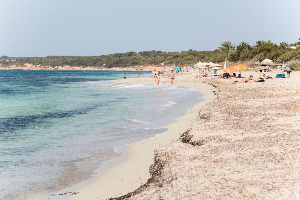 Playa Ca Mari, Formentera